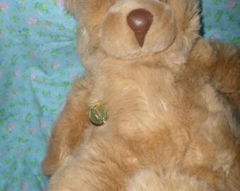"""Gund Bear Squeezy plush 16""""  1986 gund vintage squeezy Beautiful"""