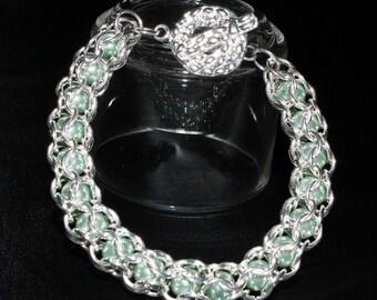 Beaded Cage Bracelet
