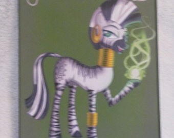 Zecora - My Little Pony - Brony Character - Just over A5 size -