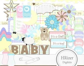 Baby Scrapbook Embellishments