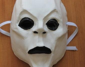 Necromancer Mask | Paper Mache Mask | Costume
