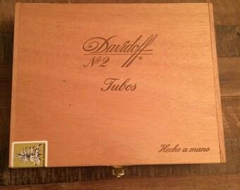Davidoff No 2 cigar box