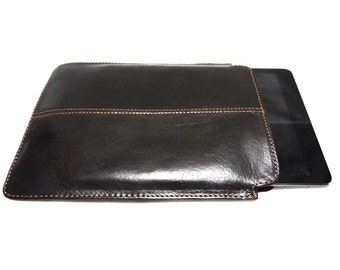 Genuine Leather case/sleeve for iPad Air in Brown