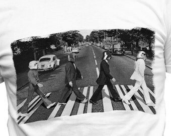 Beatles Abbey Road Star Wars Mash Up T-shirt