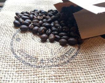 12 oz Roasted Tanzania Peaberry Coffee Beans