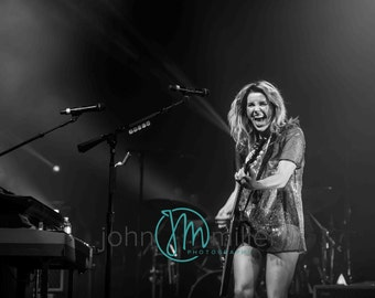 LIMITED EDITION: Grace Potter and the Nocturnals (B&W) - Live at Iroquois Amphitheater- Louisville, KY