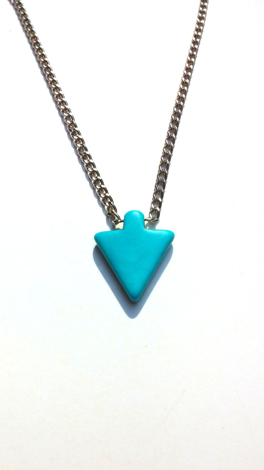 turquoise arrow necklace arrow necklace turquoise necklace