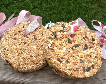 Birdseed Cake Feeders