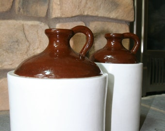 Antique/Vintage Style Whiskey Jugs