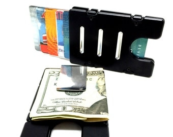Credit Card Holder/Wallet, RFID Protection, Aluminum,
