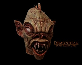 DEMONHEAD - Professional Latex Display Mask