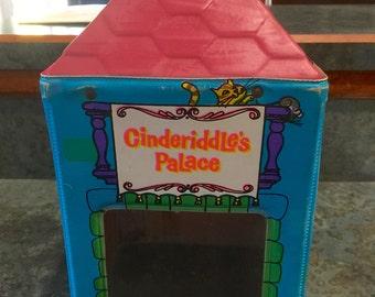 Rare VIntage 1966 Mattel Liddle Kiddles Cinderiddle's Palace