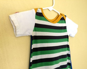 Stripes Stripes Stripes Snuggle Sack. Your baby is one of a kind, dress them that way.