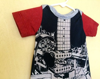 Guitar Love Snuggle Sack. Your baby is one of a kind, dress them that way.