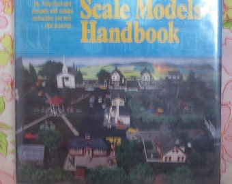 Animated Scale Models Handbook - Adolph E. Frank - 1981 - Vintage Book