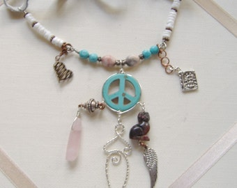 Mother Peace Talisman Necklace