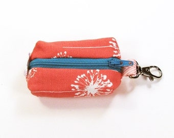 Lip Balm Holder / Charger Case / Earbud Case - Coral Dandi