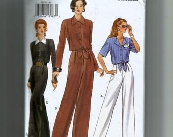 Vogue Misses' Jumpsuit Pattern 8829