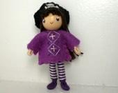 Pirate Bendy Doll by Princess Nimble-Thimble - Waldorf Felt Bendable Girl