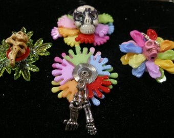 Dollhouse Wreath  Beach, Summer  Halloween  Dia de Los Muertos  SpookyCuteteam, Halloween24/7, Witchesof Etsy, paganteam, OlympiaEtsy, WWWG