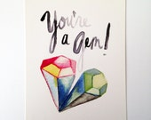 You're a Gem Postcards