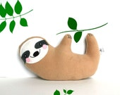 READY TO SHIP Seymour Sloth Plush Sloth Soft Toy for Baby and Kids