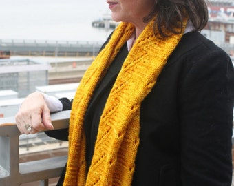 Knitting Pattern for Chamomile Cowl