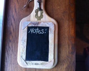Kitchen cutting board Chalk board chalkboard for notes noteboard