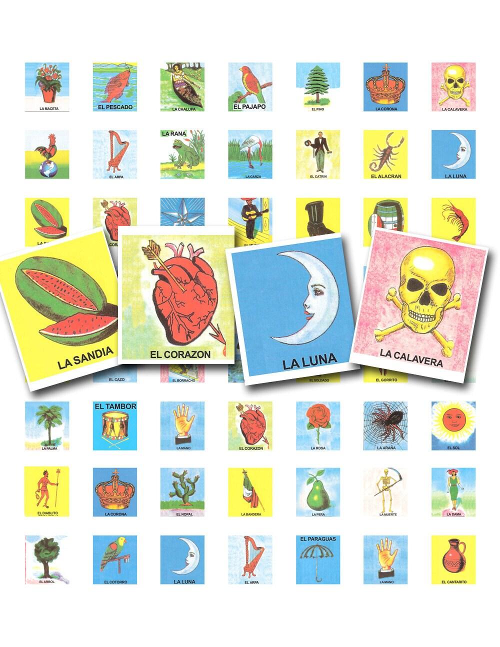 Juego de cartas Vintage scrabble bali