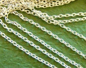 10 Feet Silver Cross Chains 000-S