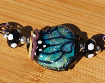 Blue butterfly destash
