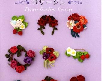 Flower Garden Corsage Patterns - Japanese Craft Book