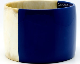 Horn & Lacquer Bangle Bracelet - Q7988
