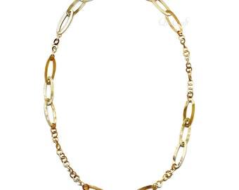 Horn Chain Necklace - Q4269