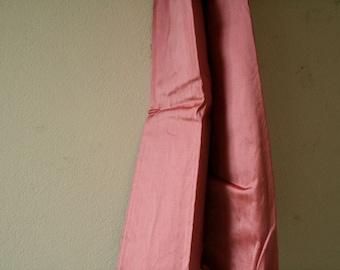 SILK FABRIC / watermelon pink / etsy australia / runningthreads