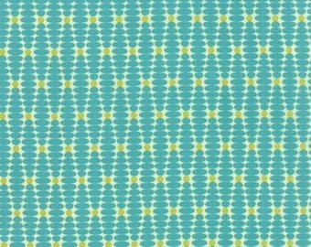 For You - From Zen Chic - For Moda - Ongoing Teal (1574 15) - 9.95 For 1 Yard