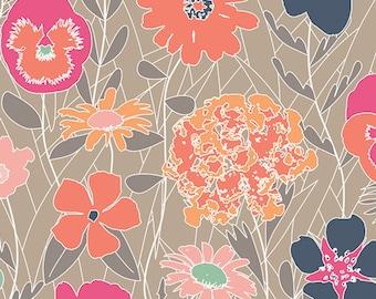 Art Gallery Curiosities Splendiferous Warm WOVEN Fabric 1 yard