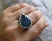 reserved for C - Labradorite Ring sterling & gold