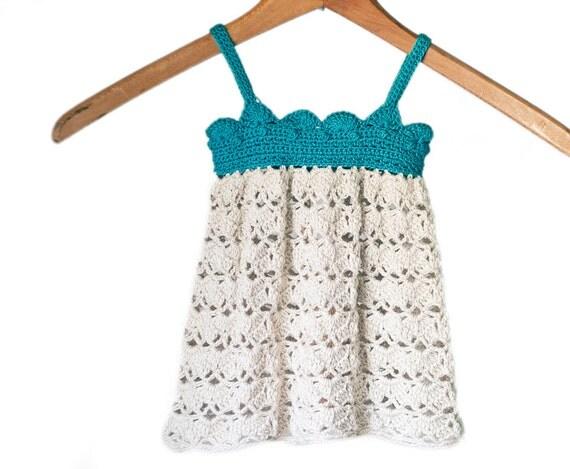 PDF Crochet Pattern for Baby Belle Dress - Sizes 0 to 6 months, Baby Dress Crochet Pattern, Newborn Dress Crochet Pattern, Baby Girl Outfit