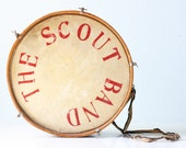 Vintage Boy Scout Drum, The Scout Band