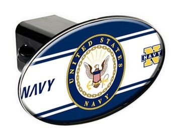 NAVY HITCH COVER - Military Gift Retirement Promotion Truck Trailer