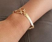 Scissor Bracelet/HairStylist Bracelet