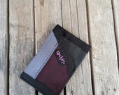 Slim Card Holder - Made from Seat Belts - Recycled Mens Minimalist Wallet