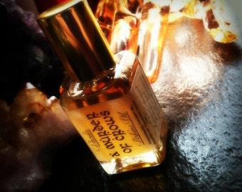A Murder of Crows Perfume Oil - Cocao Absolute Honey Sandalwood Coconut Milk Carnation Myrrh