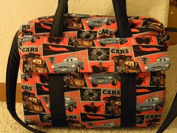 Disney Cars 2 Diaper Bag W Change Pad By EMIJANE