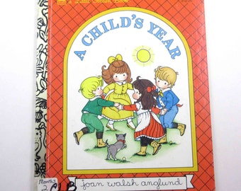A Child's Year Vintage 1990s Children's Book by Joan Walsh Anglund