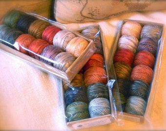 Valdani Pearl Cotton Designer Collection size 8 - Spring from Notforgotten Farm