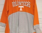 Upcycled Tn Vol fan game day shirt! Go Vols! Size M/L