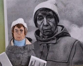 Bernice Abbott History of Photography Doll Miniature