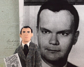 John K. Toole Author Doll Miniature Literary Figure Historical Writer